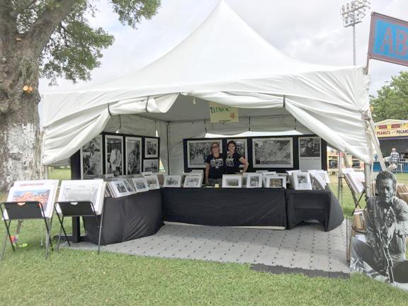 Jazz Fest Tent Photo