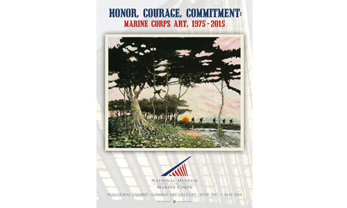 Honor, Courage, Commitment Poster
