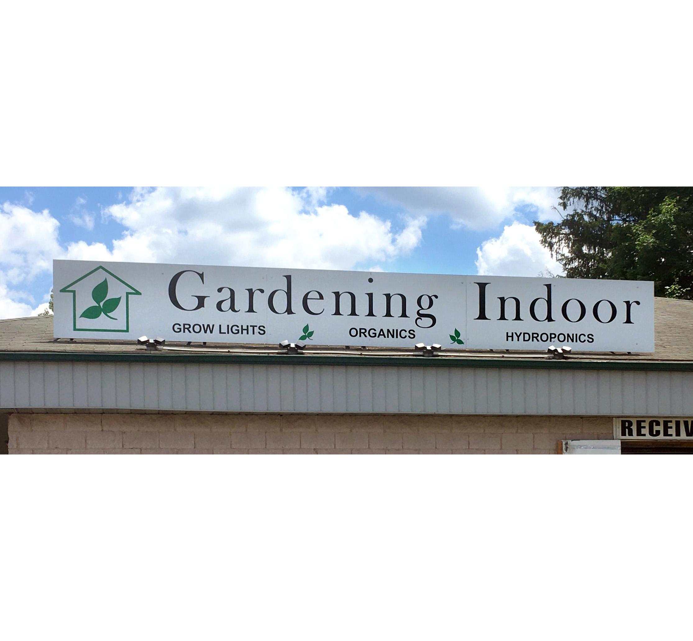 Gardening-Indoor Vinyl Sign