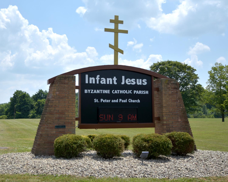 Infant Jesus Sign